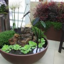 patio container water garden pond New Jersey