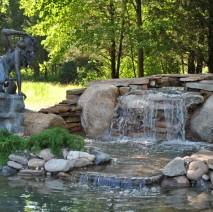 water garden koi pond services renovation repair Whitehouse Station, NJ 08889