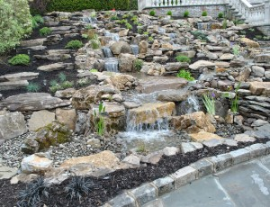 waterfall pondless install repair renovation Lattingtown, NY 11560