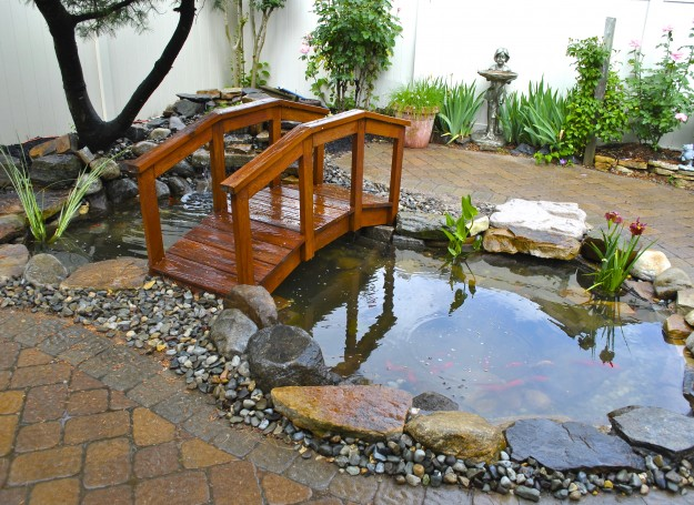 New Jersey Pond Cleaning & Water Garden Design Service By Full