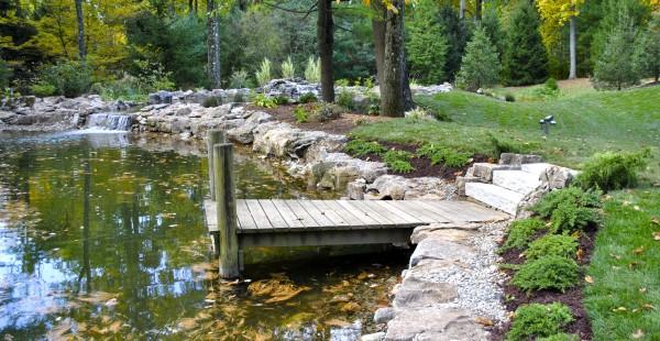 water garden Princeton NJ