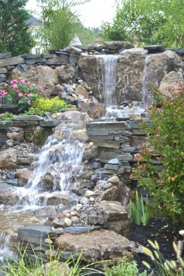 pondless waterfall Watchung NJ