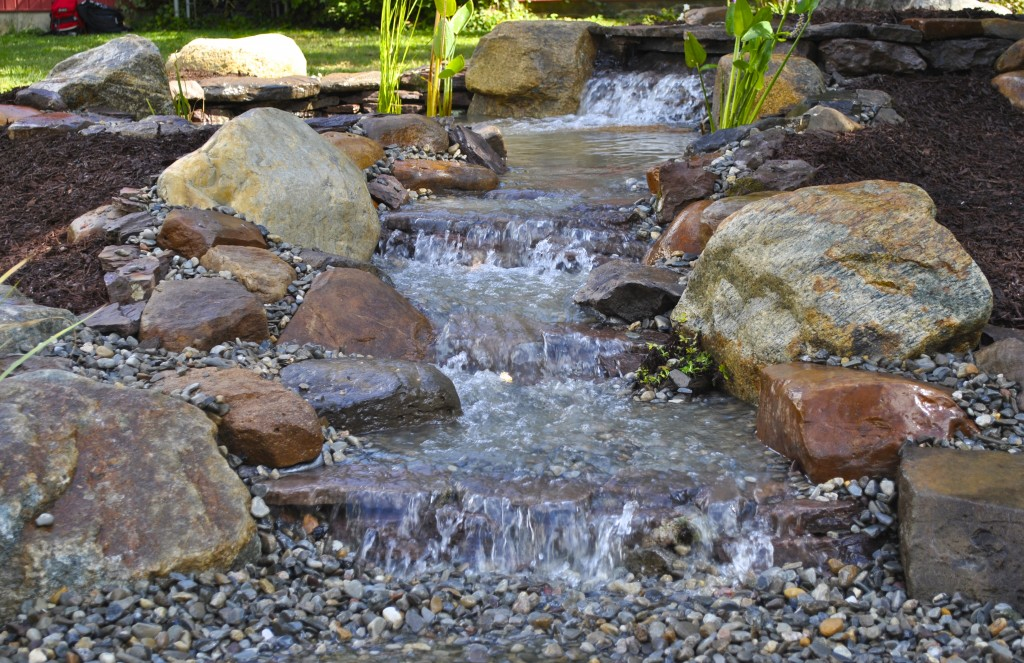 pondless waterfall East Brunswick NJ