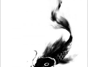 black koi